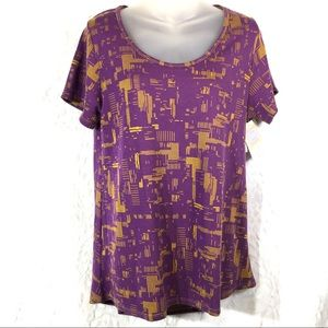 Lularoe classic t tee shirt top blouse NWT new M